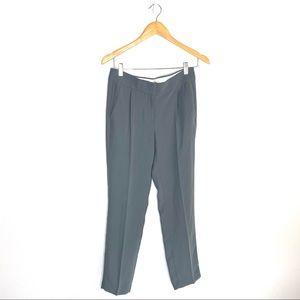 J. Crew Pleated Crepe Trouser